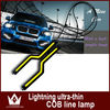 COB DRL 18cm 12V daylight 12W COB car LED DRL Running Lights