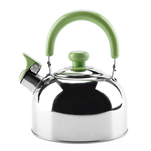 2.3L 304 Stainless Steel whistling kettle with bakelite handle