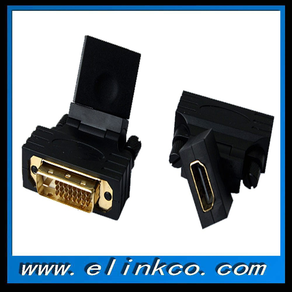 Premium DVI to hdmi adapter male to female with chip set in