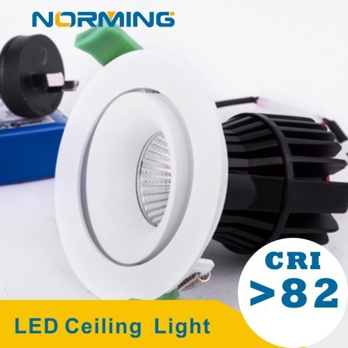 Norming 9W/13W/17W COB MR16 80mm Cut led downlights dimmable