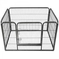 8 Panel Enclosure Pet Exercise Playpen for Cat Dog Poultry Cage