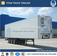 thermo king refrigerated van trailer for sale