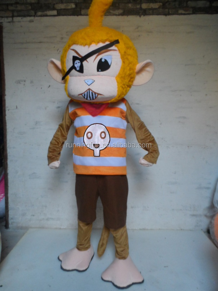 Animal monkey mascot costume,used mascot costumes for sale