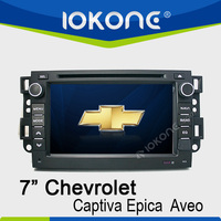 "factory 7"" HD Touch screen 2 din chevrolet epica car dvd gps navigation with TMC, camera, mic, dvb-t"