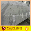 Cheap prefab marble tile volakas white flooring tile