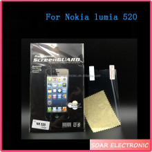 Mobile Phone Parts High Clear Screen Protector For Nokia Lumia 520, Protective Film For Nokia Lumia 520