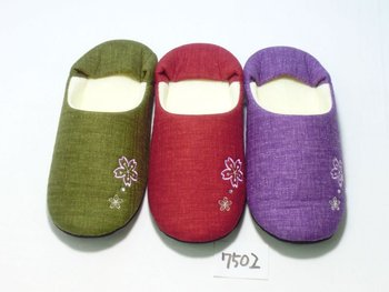 hotel bathroom slippers japanese misugi 7502