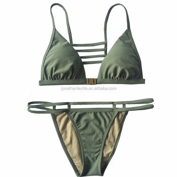 2017 wholesale custom swimsuits mature women bikini