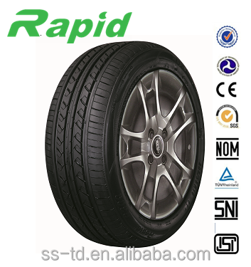 ECE DOT INMETRO GCC REACH BIS Approved Chinese Tires brands Rapid Car Tire