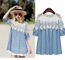 summer embroiders blouse neck design of blouse