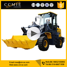 Pallet forks LW160K compact Telescopic Boom Wheel Loader for sale in UK