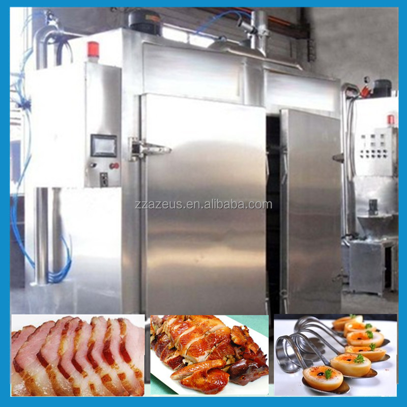 Cook and Hold Oven allows caterers to smoke meat / fish / vegetables