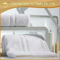 100% cotton sets of towel blanket