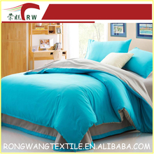 Textile microfiber fabric factory 100% polyester dyed bed sheet/bed cover fabric