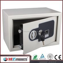 ISO9001-2008 stash safes , low price electronic fingerprint safe small
