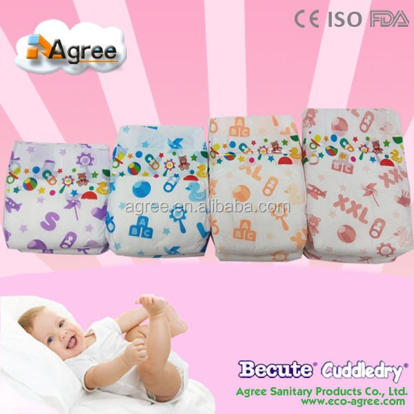 Premier sleepy cloth baby adult diaper products factory in China