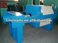 Dewatering diaphragm filter press
