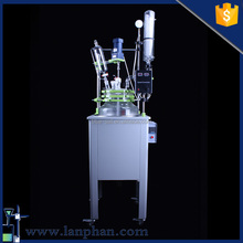 Cheap Wholesale Single Layer Glass Reactor Vessel for Pharmaceutical Reaction