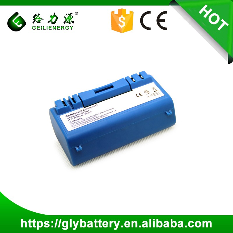 Robot Vacuum Cleaner Ni-MH Replacement 14.4V 3500mAh Scoomba Battery For Scoomba series