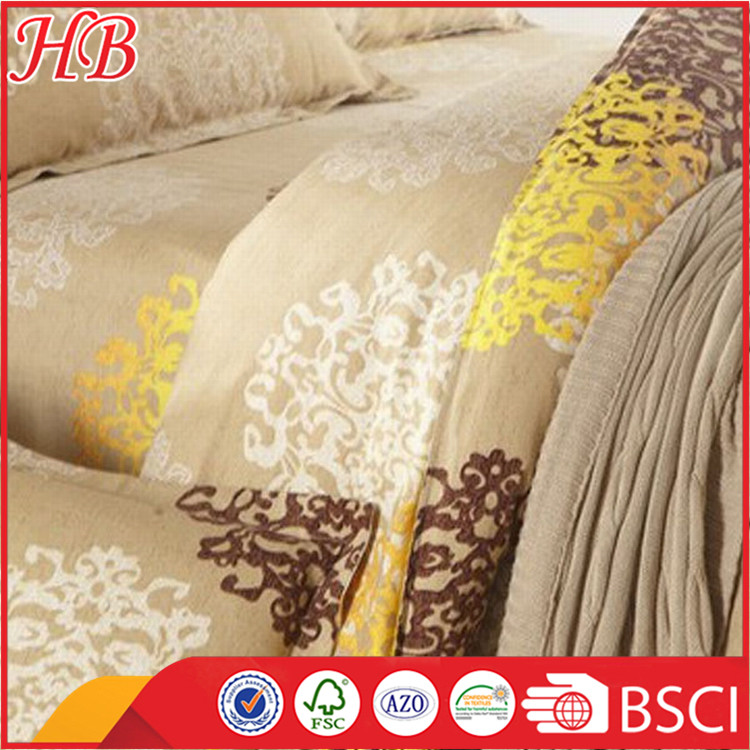 Popilar style microfiber print bedding set,100% polyester 3pc bedding set,hign quality and cheap price bedding set