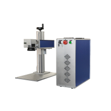 high speed fiber smart 30w fiber automatic fiber ear tag laser marking equipment High quality and cheap price