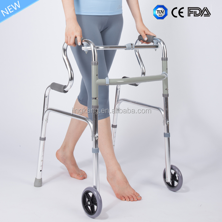 Old People Standing Frame Disable Walking Aids elderly walker with high quality