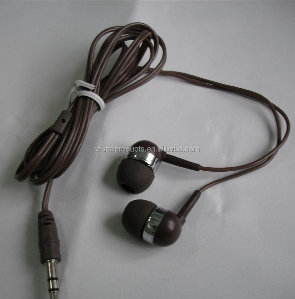 Promotion Inexpensive MP3 Earphones Wired Handfree Headphones Earphone with Case