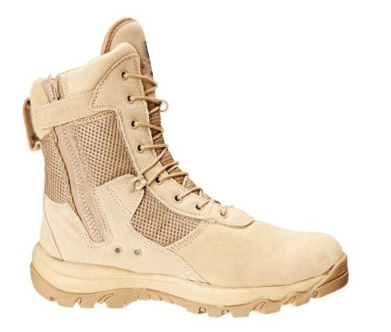 US Desert Military Boots With Zipper