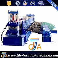 National Road Used Two Wave Guardrail roll forming Machine by bello lin