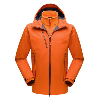 Custom work jacket Orange for winter men jacket high quality