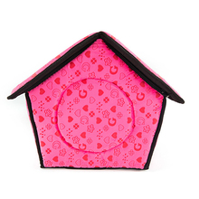 new product indoor luxury pet bed cat dog house manufacturer