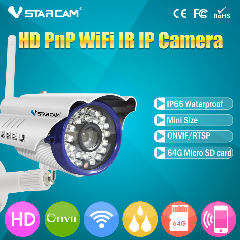 VStarcam C7815WIP HD 720P PnP support ONVIF and triple stream wireless hd 720p ip camera