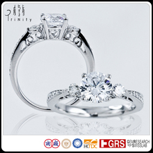 Custom Made Design Your Own Genuine Diamonds Settings And Mountings Ring Jewelry Wholesale China Latest Gold Finger Ring Designs