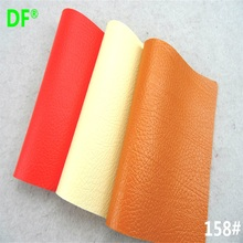 wholesale lots newest pattern 158# leather, fabric material for sofa set red yellow white color