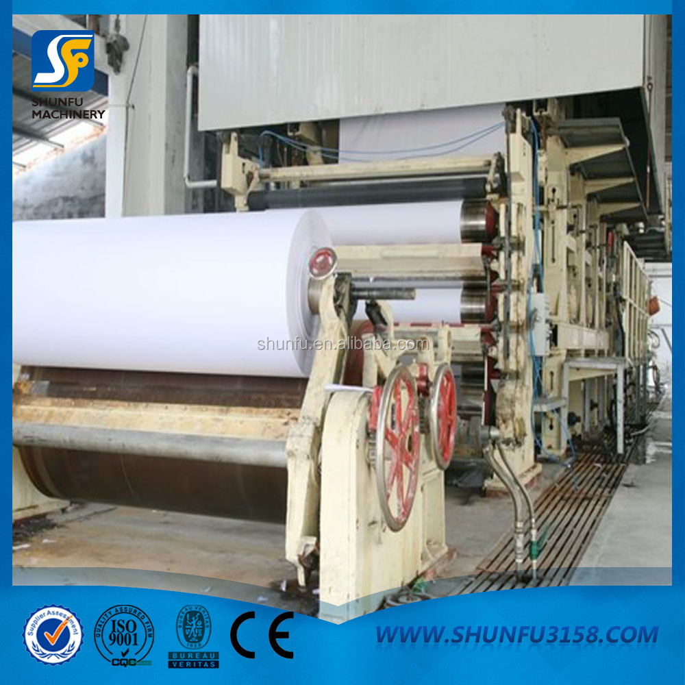 high performance office copy paper making machine, A3 A4 paper making machine