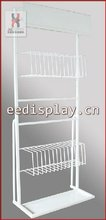 six ways display racks for shopping mall-F2002/candy or snack metal display shelving