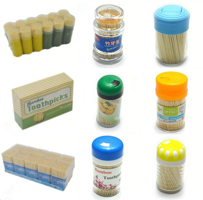 Disposable factory direct supply high quality wooden custom long toothpicks