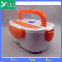 Promotional Wholesale 1-2-3 compartments collapsible food warmer electric lunch box