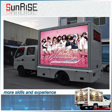 SMD outdoor advertising TV Car Mobile LED display screen for Activity