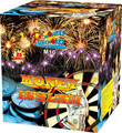 Cake and Display shell fireworks 1.2' 25Shots money is slam