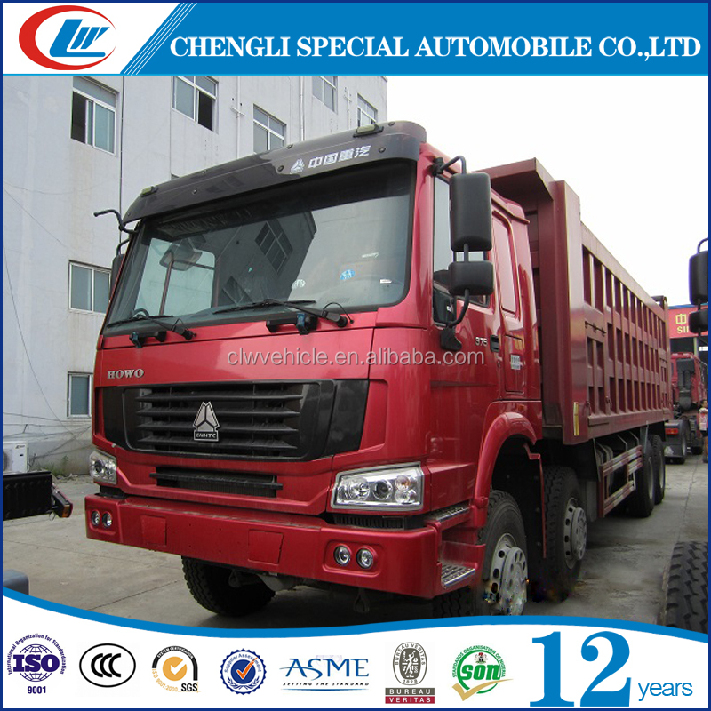 Heavy duty 10 wheels 20ton 25ton 30ton dump trucks for Mining