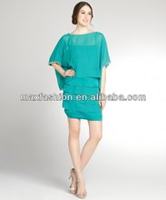 Ocean Breeze Oversized Top Tiered Bottom Dress,designer clothing manufacturer in China