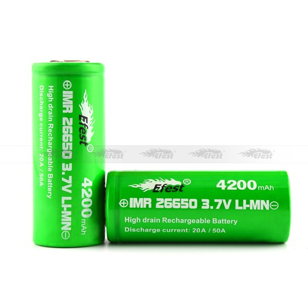 4200mah 50A high drain 26650 battery over 500 life times lipo 26650