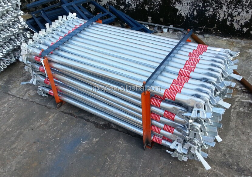 Steel Scaffolding Japan : Ringlock system steel scaffolding side bracket