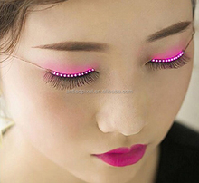 wholesale price new arrival Sound Interactive Flashing Led eyelashes