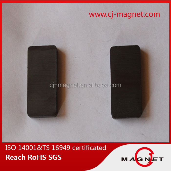 cheap China price prime power Y35 Black Ferrite magnet for Acoustic appliances