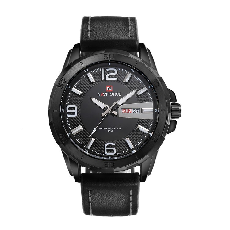 9055 week and date function japan water proof Top brand NAVIFORCE luxury watches men Newest designer luxury wrist watches men