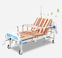 Hot sale cheap Household Medical Folding Multifunction hospital Care Nursing Bed