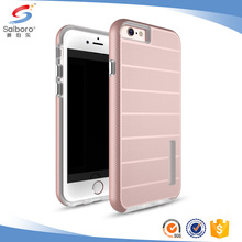 Free sample TPU +PC 2 in 1 phone case for iphone 6s back cover for girls