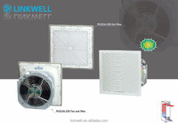 China alibaba low noise high protection class cabinet coolers, filter fan for enclosure cooling